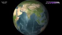 NASA Tracks Chelyabinsk Meteorite Dust in the Atmosphere